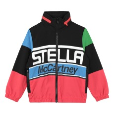 product-Stella McCartney Kids Cazadora Impermeable Colorblock