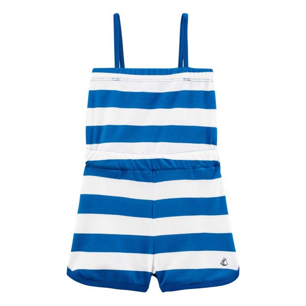 fe7c94329ed Bina jumpsuit Blue Petit Bateau Fashion Children