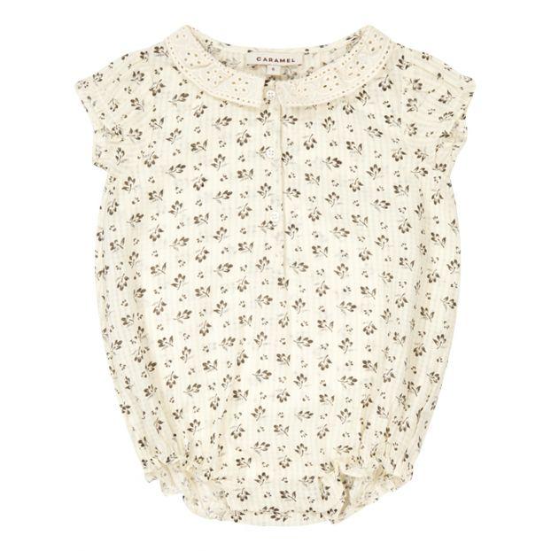 3226906dc Silverbell romper Ecru Caramel Fashion Baby