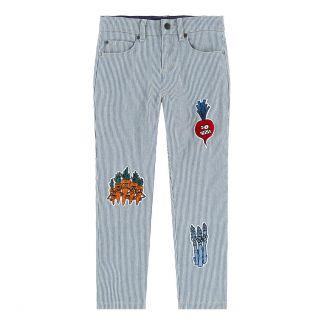 a561ae61409 Stella McCartney Kids Veg Gang slim trousers-listing