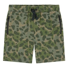 product-Stella McCartney Kids Short Molleton Coton Bio Camo
