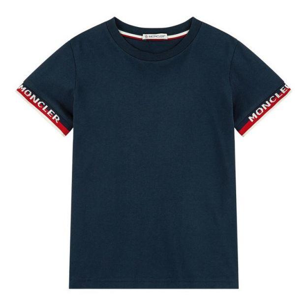 buy online 75905 bd46b T-Shirt Maglia Nachtblau