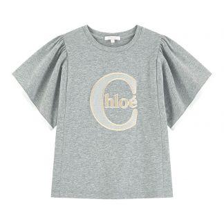 3e48039da Chloé Embroidered T-shirt -listing