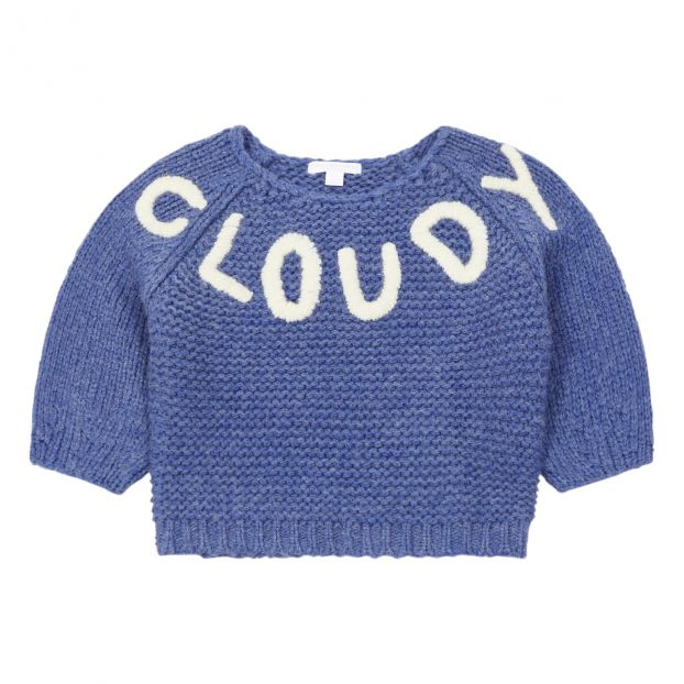 Gerty Cloudy jumper Blue