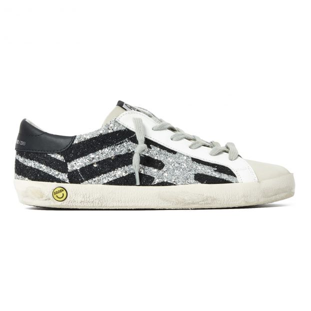 9ab1036ba Superstar Zebra Trainers Silver Golden Goose Deluxe Brand Shoes