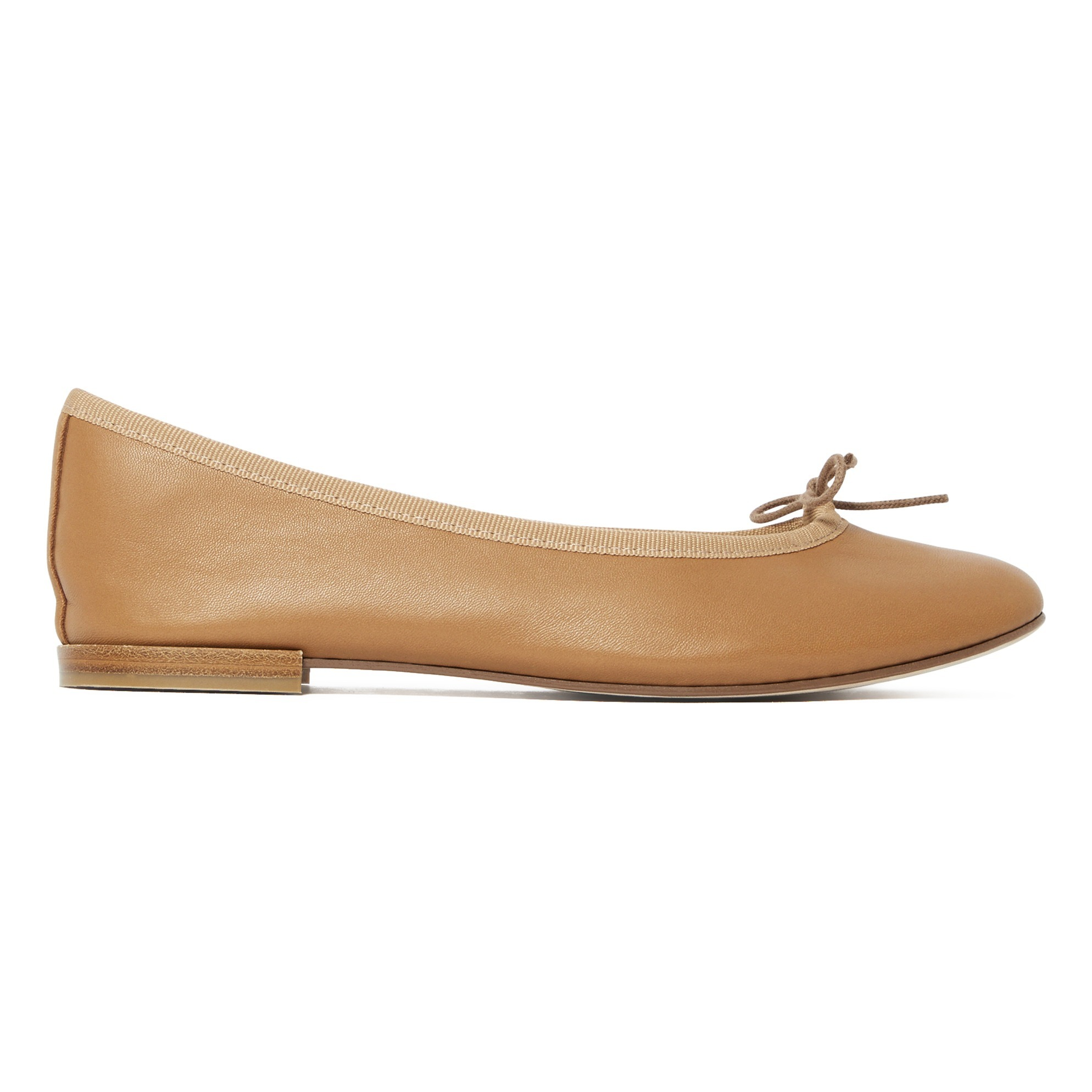 523b1ba230322 Cendrillon Ballet Flats Taupe brown Repetto Shoes Adult