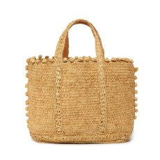 product-Vanessa Bruno Medium/ Large Bobbled Tote Bag