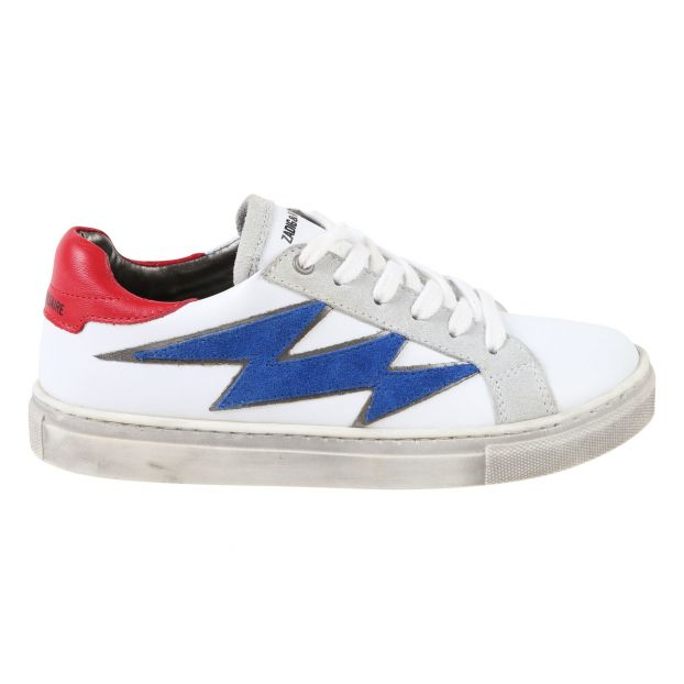 fa885b60f6189 Leather trainers White Zadig   Voltaire Shoes Teen