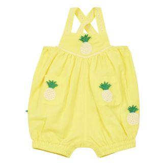 f0efb975511 Stars organic cotton romper White Stella McCartney Kids Fashion
