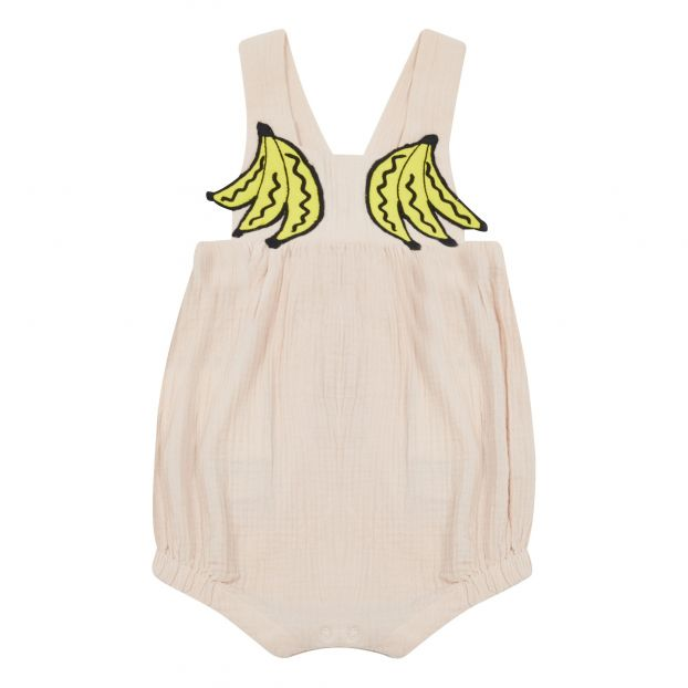 79d5d0800d31 Banana romper Powder pink Stella McCartney Kids Fashion Baby