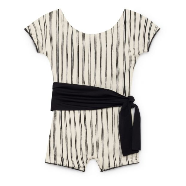 a5a698aef656 Bamboo swim playsuit Black Little Creative Factory Fashion Teen
