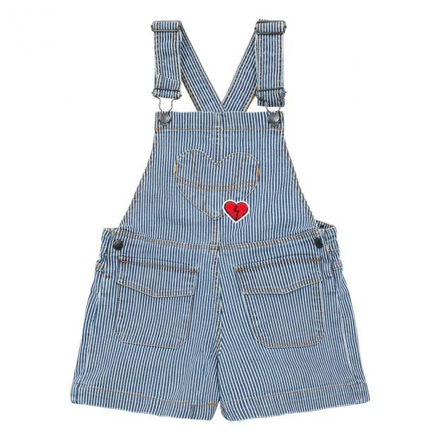 la meilleure attitude 9d54f 5c672 Salopette Oshkosh Heart Bleu