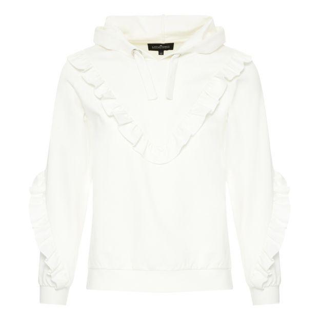 Sandie Sweatshirt Ecru Little Remix Fashion Teen  294198eee