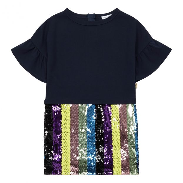 464f6bf3dc2 Sequin dress Navy blue Little Marc Jacobs Fashion Teen