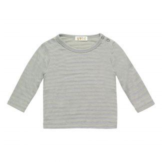3b15cb4bf6608d T-Shirt aus Baumwolle und Leinen Isabelle Weiß Buho Mode Kind