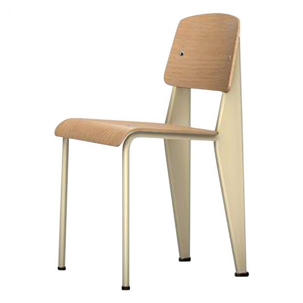 Chaise Standard Pietement Ecru Jean Prouve 1934 1950 Product