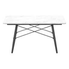 product-Vitra Quadratischer Couchtisch Eames Coffee Table, Beingestell Esche Schwarz, Charles & Ray Eames, 1953