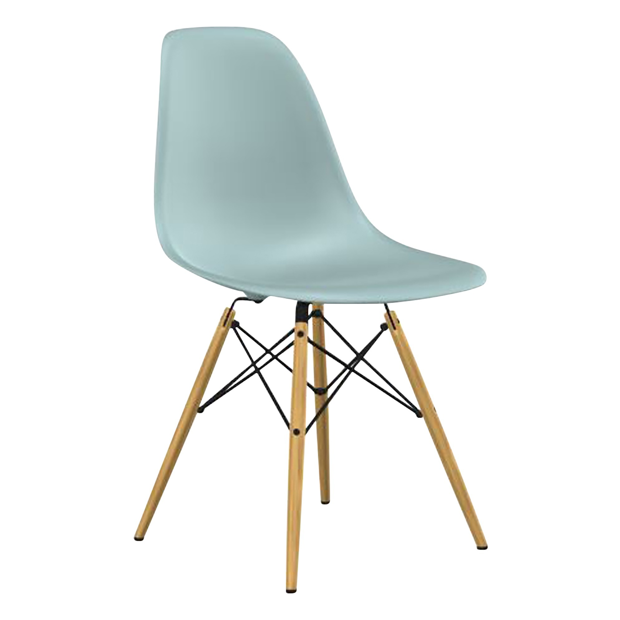 Eames DSW Chair Charles & Ray Eames, 1950 Grey blue Vitra