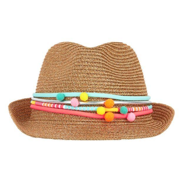 Cappello di paglia Dorato Billieblush Moda Bambino 1d2d40c5a9f7