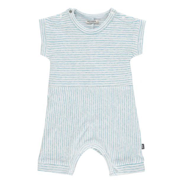 55fbaa2eb9e2 Organic Cotton Romper Light blue Imps   Elfs Fashion Baby