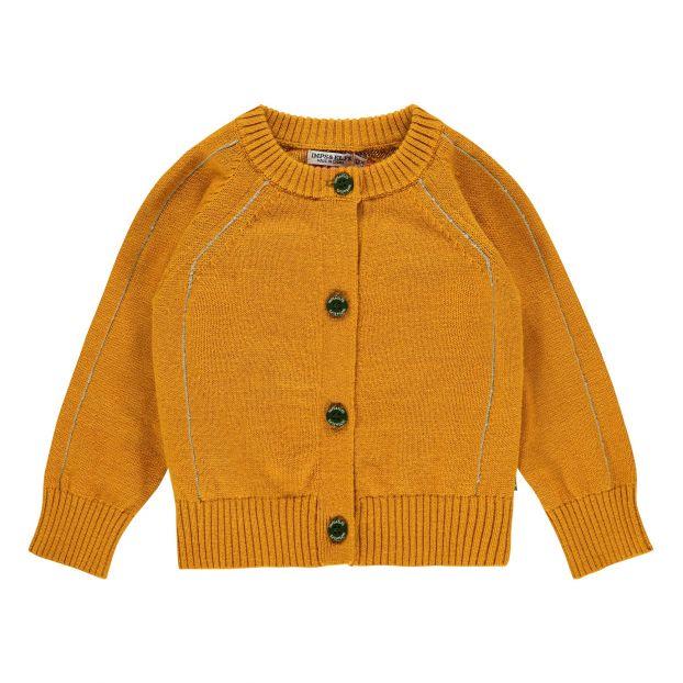 81c4e1ad360 Organic Cotton Cardigan Caramel Imps   Elfs Fashion Baby