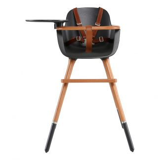 5f7dce03b OVO LUXE CITY High Chair with Safety Harness in Faux-Leather