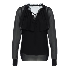 product-See by Chloé Blusa Georgette