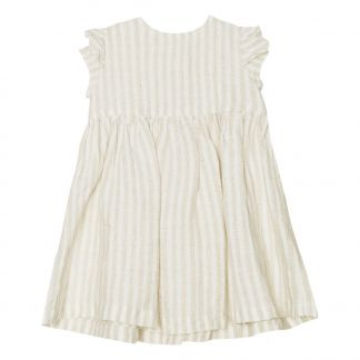 8f8050a46 Yellowpelota Vestido Lino de Rayas-listing