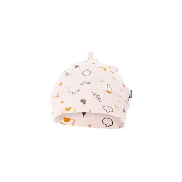 718c6c323f3 Organic Cotton Beanie Pale pink Imps   Elfs Fashion Baby