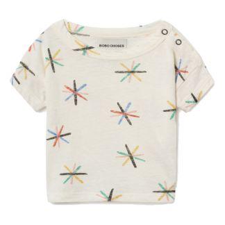 92c85ce97215 Bobo Choses Stars linen t-shirt-listing