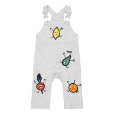 product-Stella McCartney Kids Salopette Molleton Coton Bio Fruits