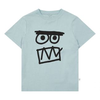 d7df0002a6 Stella McCartney Kids Camiseta Algodón Biológico Face-listing
