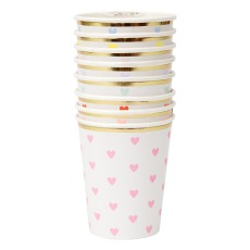 product-Meri Meri Heart Paper Cups - Set of 8