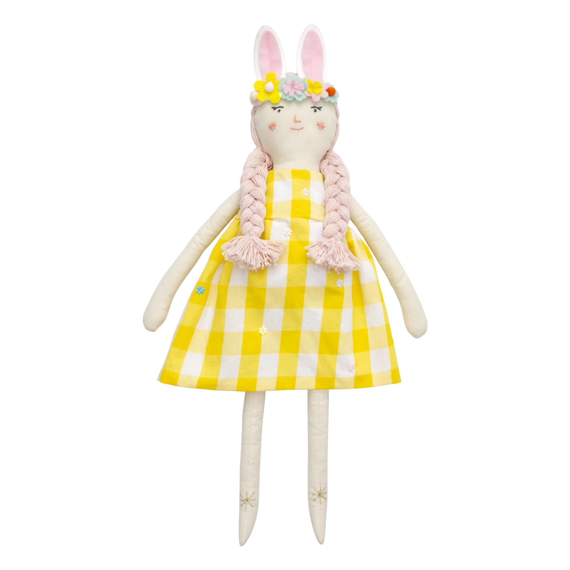 Meri Meri - Poupée en tissu Alice - Jaune