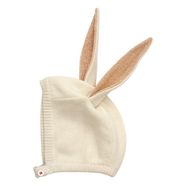 99865a0ac3e3a Bonnet oreilles de lapin en coton bio Meri Meri Mode Bébé