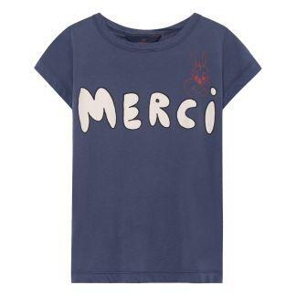 ca99b04d7 The Animals Observatory Merci Bonjour Hippo T-Shirt-listing