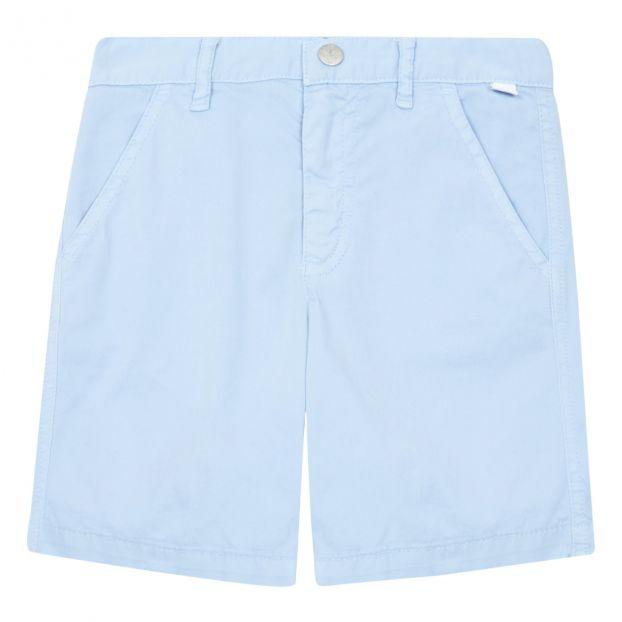 il gufo Dark Blue Chino Shorts boys