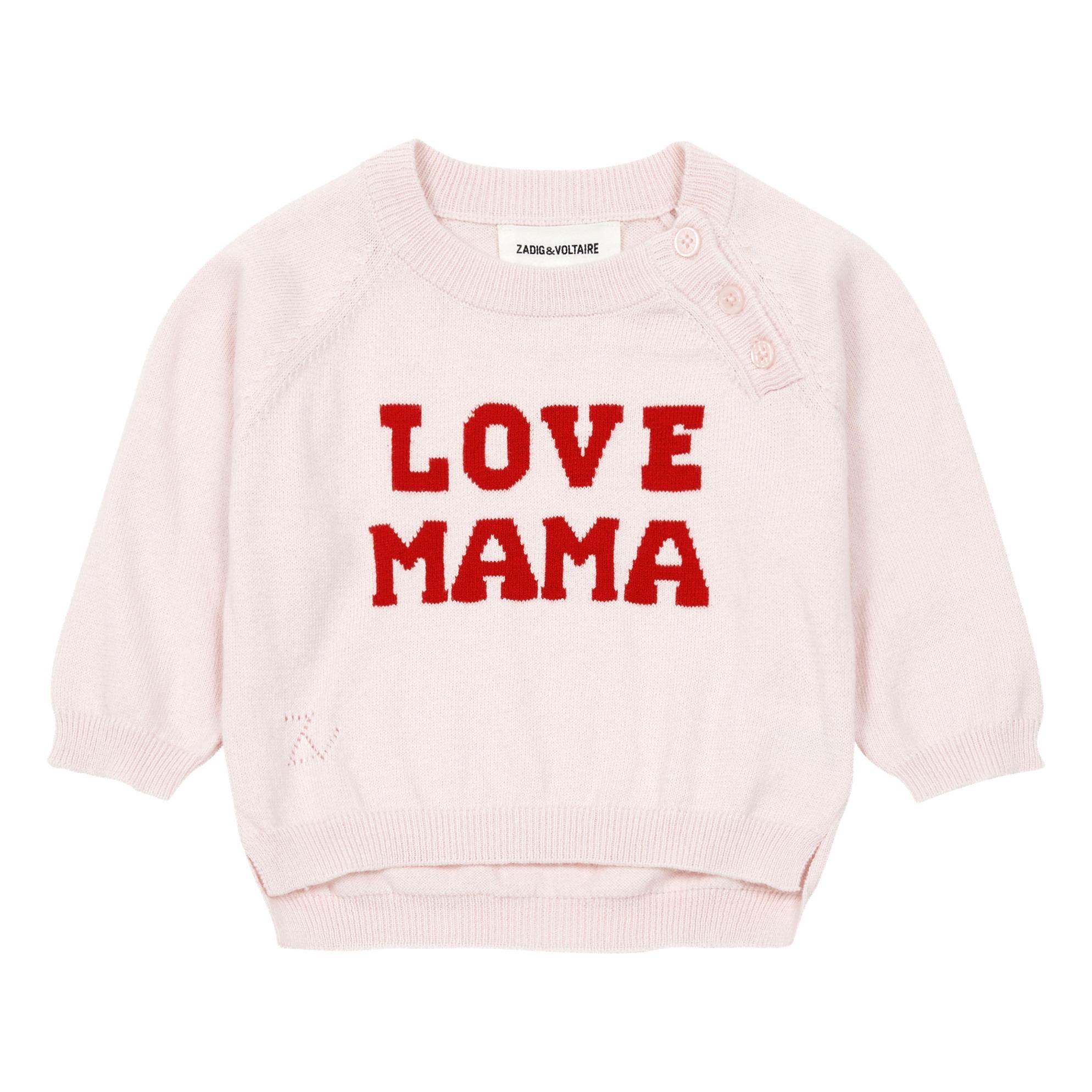 1b3c313ab096 Love jumper Pink Zadig   Voltaire Fashion Baby