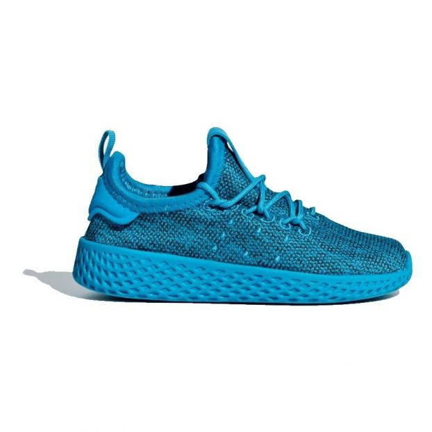 fa2b97df43f2 Pharrell Williams Lace-up Canvas Trainers Light Blue Adidas Shoes