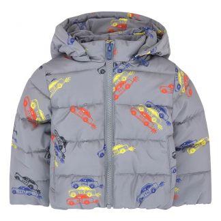 165fe88cc68 Stella McCartney Kids Hubert Cars Fur Linen Down Jacket -product