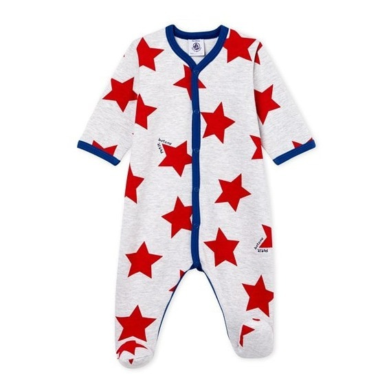16bf09c83c1dd Pyjama Ben Gris Petit Bateau Mode Bébé