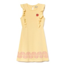 product-Bobo Choses Cotton and linen knitted dress
