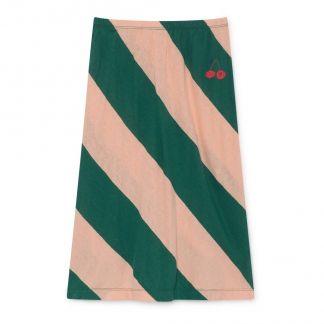 59e0c47f9405f Bobo Choses Jupe Midi Coton Lin Bicolore-listing