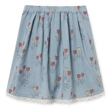 product-Bobo Choses Cotton and linen mini skirt