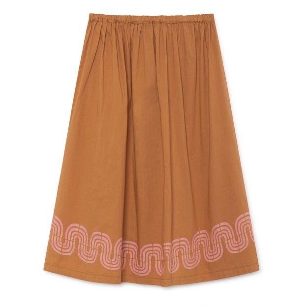475d42d3f89c Organic cotton maxi skirt Camel Bobo Choses Fashion Children