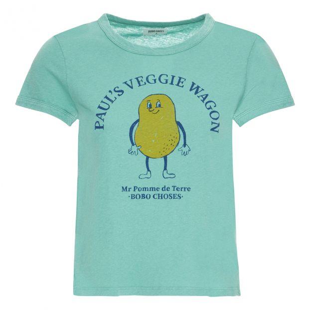 0906f9d1 Potato T-shirt - Women's Collection Peacock blue Bobo Choses