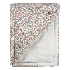 product-garbo&friends Floral Vine cotton percale plaid