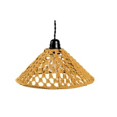 product-Cosydar Chap braided cotton pendant light