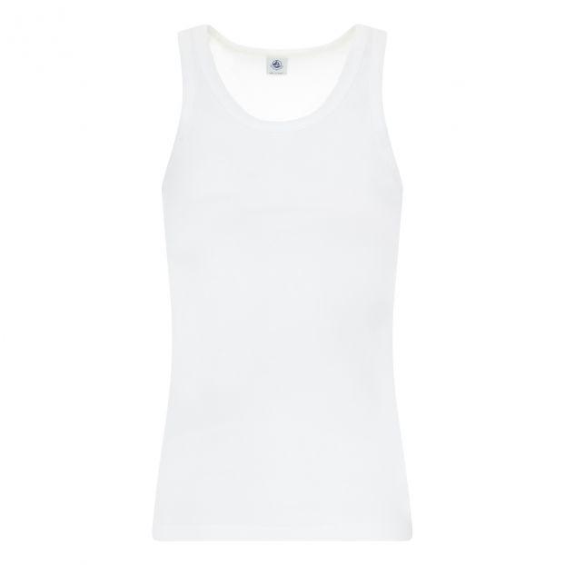 d8c99881fafd2 Débardeur Coton - Collection Femme - Blanc Petit Bateau Mode