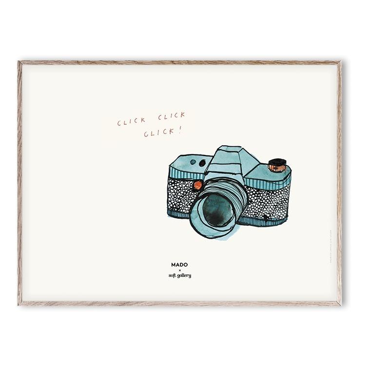 Gesehen: Poster Click Click 30x40 cm